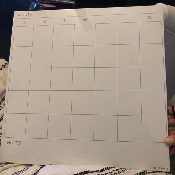 Target Other - OnSale🎃 Target Dry Erase Calendar